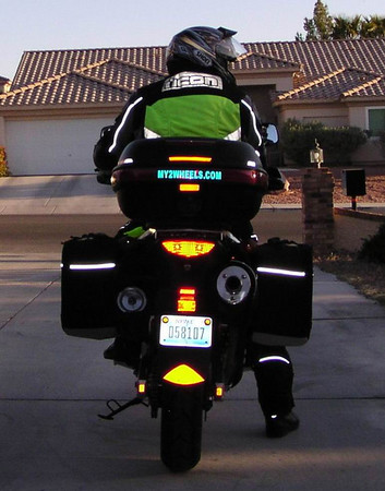 Pictures Of Your Reflectors Flash Please Stromtrooper Forum - Stickers on motorcycles